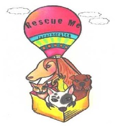 banner logo by robyn for rescue me inc 2009