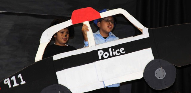 Police Car with Tommy & Policeman